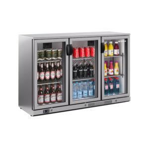 Expositor refrigerado horizontal en Inox altura 920 mm