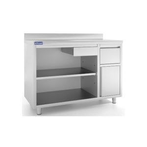 Mesas estantería IEST / cafeteras IMC