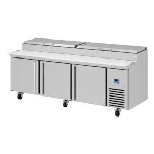 Mesa refrigeración ensaladas y pizza