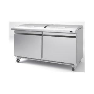 Mesa undercounter refrigeración para ensaladas/sandwiches megatop