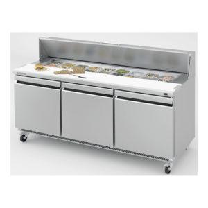 Mesa undercounter refrigeración para ensaladas