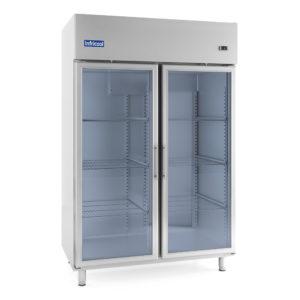 Armarios refrigerados con puerta de cristal GN 2/1