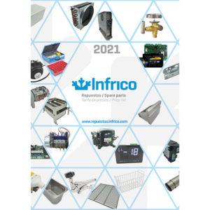 Catálogo repuestos Infrico 2021